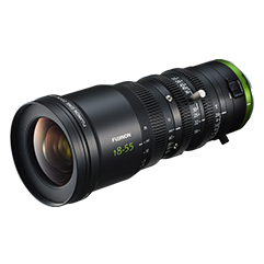NEW FUJINON MK18-55mm T2.9