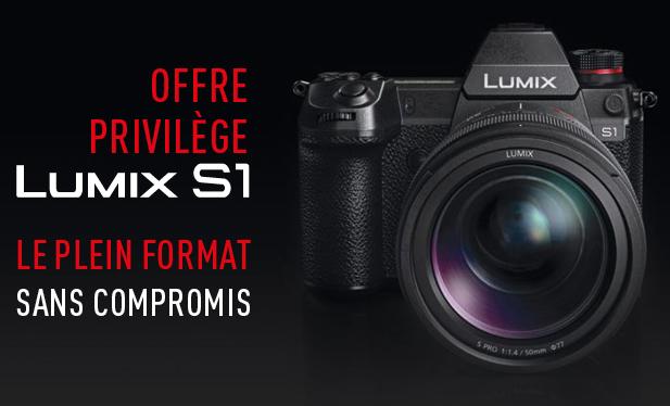 Free V-LOG for Lumix S1