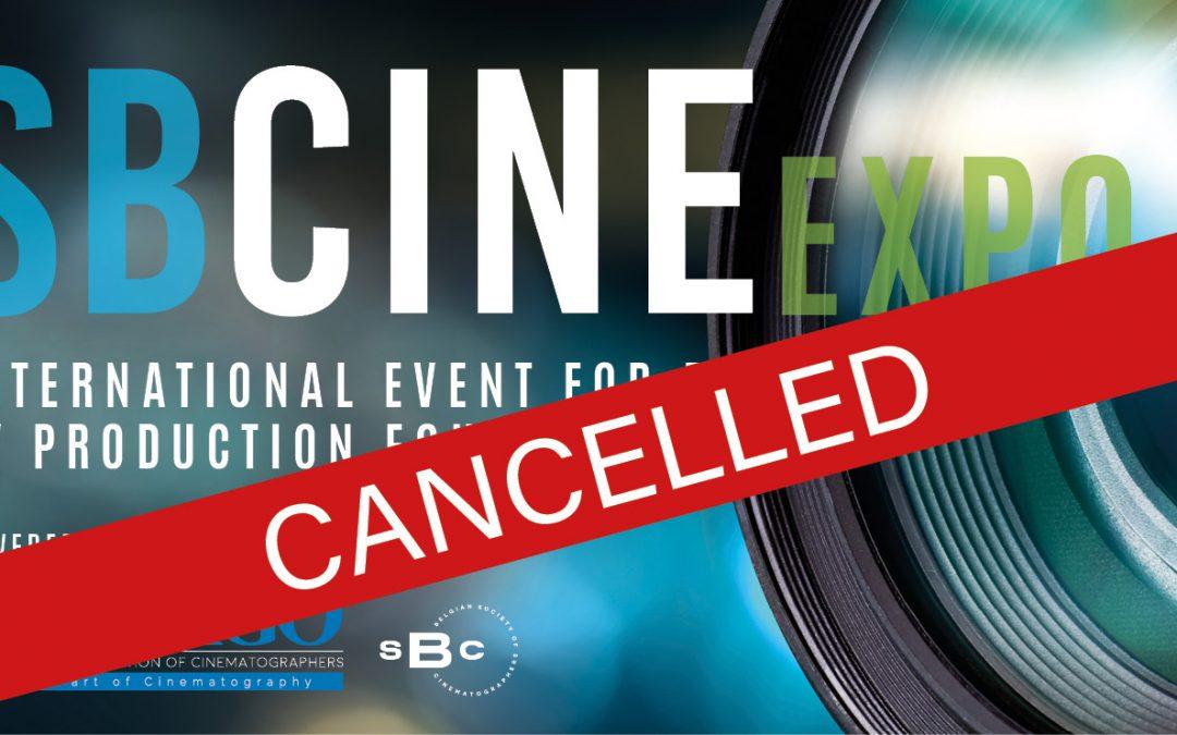 EVENT SBCINE CANCELLED 13-14/03