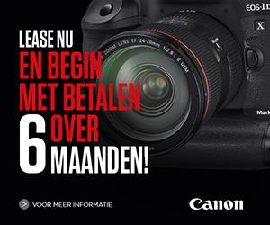 Canon leasing actie